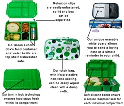go green lunch boxes downtown vancouver online store kids store baby store lunch box cute. Black Bedroom Furniture Sets. Home Design Ideas