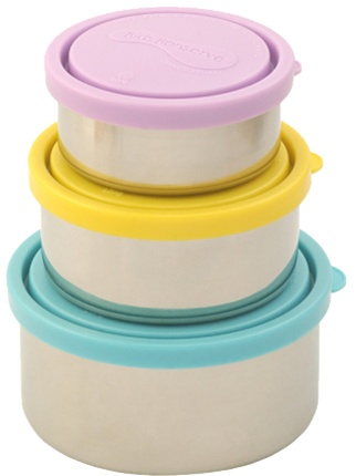 additional photos  sc 1 st  My Little Green Shop & Kids Konserve Stainless Steel Nesting Trio Food Containers my ...