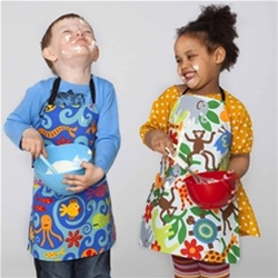 Mimi The Sardine Kid S Aprons Kids Aprons Art Smocks