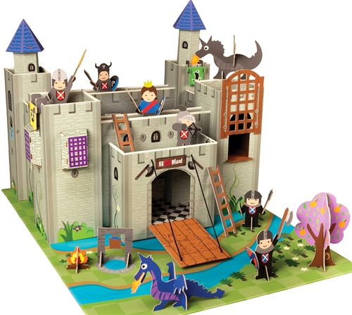 Krooom Artur Knights Play Castle Tent Toy Store Kid