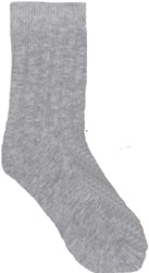 Jefferies Organic Dress Rib Socks, my little green shop, vancouver, bc, canada, online store, baby store, downtown vancouver, kids store, grey, warm, cute, socks, baby, gift, boys, dress socks, organic, organic cotton, spandex, toddler, online, kingston