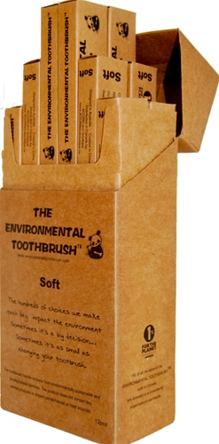 Environmental Toothbrush, 12 packs, my little green shop, vancouver ...