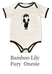 Bamboo Lily Tears of Fury Onesie