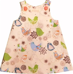 Red Thread Caterpillar Dresses, girls, downtown Vancouver, online store, kids store, children's store. little girl, dress, stylish, cotton, dresses vancouver, soft, my little green shop, bc, canada, online store, online, sweet, adorable, made in Canada
