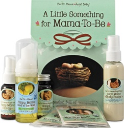 Earth Mama Angel Baby A Little Something for Mama-to-be,  my little green shop, vancouver, bc, canada, organic ingredients, online store,  pregnancy, bundle, gift, belly butter, body oil mardowntown vancouver, wash, safe, natural, baby shower gift