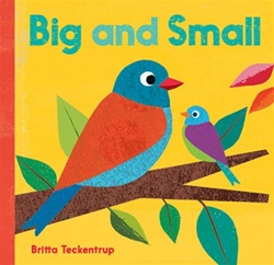 Barefoot Books Big and Small, my little green shop, vancouver, bc, canada, kids books, eco-friendly, downtown vancouver, online store, barefoot books, online, online store,atlas, colourful, kids, Britta Teckentrup, board book, children's book