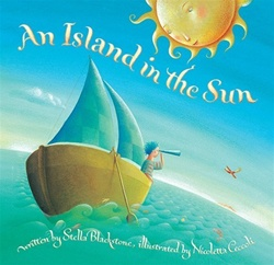 Barefoot Books An Island in the Sun, my little green shop, vancouver, bc, canada, kids books, eco-friendly, downtown vancouver, online store, barefoot books, online, online store,atlas, colourful, kids, Stella Blackstone, Nicoletta Ceccoli, soft cover