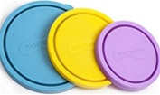 kids konserve nesting trio replacement lids, my little green shop, vancouver, eco-friendly, nesting trio, kids konserve, lid replacements, sky, ocean, food storage, bc, canada, BPA-free, 100% recyclable, safe, non-toxic, BPA free,  Phthalate free, lids