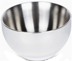 ONYX Stainless Steel Large Bowl, my little green shop, vancouver, eco-friendly, steel bowl. online, 18/8 grade stainless steel, food, bc, canada, safe, non-toxic, 100% recyclable, baby store, downtown vancouver, kitchen store, food bowl, desert bowl, onyx