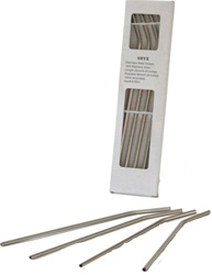 ONYX 24 cm Stainless Steel Straws, my little green shop, vancouver, eco-friendly, downtown, online store, 18/8 grade, stainless steel, fun, kids bottle, short straws, mealtime, food, bc, canada, safe, non-toxic, 100% recyclable, long straws, online, Onyx