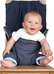 Totseat Travel Highchair, my little green shop, vancouver, eco-friendly, online, convenient, downtown Vancouver, Yaletown, bc, canada, BPA-free, 100% recyclable, safe, non-toxic, Oeko-Tex approved fabric, online store, travel highchair