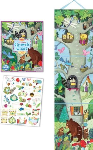 Eeboo Birthday Tree Growth Chart Baby Gift Shower Gift Newborn