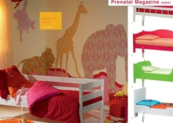 Inke Mama Elephant Wallpaper Silhouettes, baby's room, nursery, eco-friendly, wall art, sweet, gift, wall decals,  newborn,  my little green shop, vancouver, bc, cute, animals, canada, online store, baby store, downtown vancouver, netherlands, inke Heilan