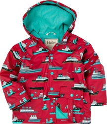 Hatley Ocean Liners Raincoat, safe, eco-friendly, PVC-free, my little green shop,Vancouver, bc, canada, Phthalate free,children, online, cute, kids boots, kids store, online store, downtown vancouver, child's, Ocean Liners, Hatley, Rain coats, raincoats,