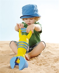 Hape Yellow Grabber, eco-friendly, environmentally friendly, PBA-free, no phthalates, vancouver, bc,my little green shop, west end, play, sand box, toys, downtown vancouver, online,online store, Canada, kids, toy store, safe, non-toxic, beach toys,grabber
