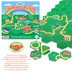 Eeboo Community Cooperative Game, toy store, kid store, fun, eco-friendly toy, vancouver, bc, downtown vancouver, online store, kids, safe, educational toys, games for kids, BC, bingo game, Canada, Eeboo, games, 5 years+,community building, social games
