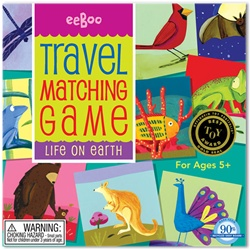 Eeboo Life on Earth Travel Matching Game, toy store, kid store, gift, travel games, fun, eco-friendly, colourful,  eco-friendly toy, vancouver, bc, downtown vancouver, online store, kids online store, safe, educational toys, preschool games, fun games