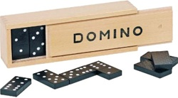 Goki Domino 28 pieces, Vancouver, my little green shop, online, BC, Canada, downtown Vancouver, kids games, dominoes, domino games, kids store, online store, games, downtown, kids store, educational toy, eco-friendly, goki, wood, wooden games, classic