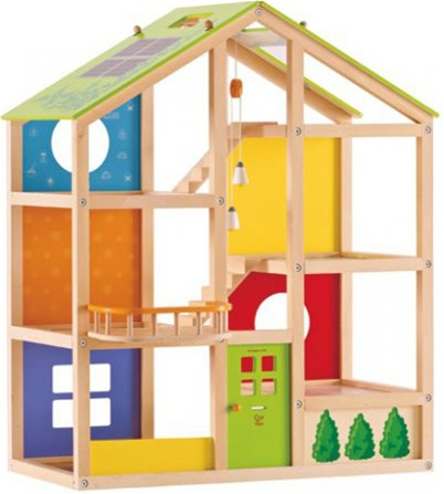 Hape All Season Unfurnished Doll House My Little Green Shop Gift