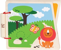 Hape Happy Baby Wooden Books, toy store, kid store, boy, toddler, imaginative, fun, eco-friendly, eco-friendly toy, vancouver, bc, downtown vancouver, online, online kids store, safe, educational toys, Hape, preschoolers, wooden books, toddler. farm, zoo
