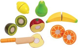 Hape Fresh Fruit, toy store, kid store, gift,  toddler, imaginative, fun, eco-friendly, sustainable, eco-friendly, vancouver, bc, downtown vancouver, online, kids online store, safe, wood toys, Hape, preschoolers, play food, canada, toy food, toy, wood