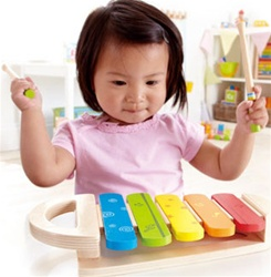 Hape Rainbow Xylophone, toy store, kid store, gift,  toddler, imaginative, fun, eco-friendly, sustainable, vancouver, bc, downtown vancouver, online, kids online store, safe, Educo, toddlers, xylophone, music toy, baby, learning, colourful, musical, toys
