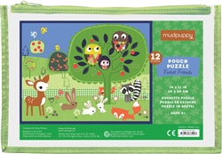 Mudpuppy 12 pc Floor Puzzles, my little green shop, non-toxic paint, BC, Canada, downtown vancouver, learning, puzzle, 18 months+, kids store, online store, baby store, downtown baby store, educational toy, eco-friendly, mudpuppy, toddler, safe