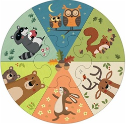 Mudpuppy Wheel Puzzles, Vancouver, my little green shop, non-toxic paint, BC, Canada, downtown vancouver, learning, puzzle, 18 months+, kids store, online store, baby store, downtown baby store, educational toy, eco-friendly, mudpuppy, toddler, safe