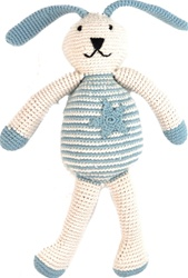 Pebble Organic Crocheted Bunnies, toy store, kids store, gift, toddler, organic cotton, eco-friendly, dolls, eco-friendly toy, vancouver, bc, downtown vancouver, online, kids online store, safe, Peppa, organic, Tino, organic, baby, gift, newborn