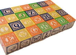 Uncle Goose Wooden Classic ABC Blocks, stacking blocks, my little green shop, vancouver, bc, canada, safe, gift, boy, girl, building blocks, classic wooden blocks, colourful, kids store, online store, non-toxic, non-toxic finish, ABC Blocks, wooden blocks